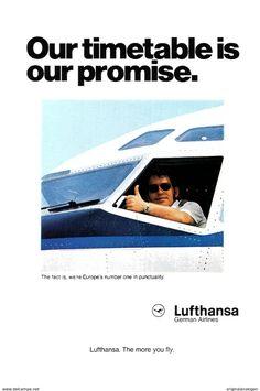 Original-Werbung/ Anzeige (USA) 1976 - LUFTHANSA -  Ca. 160 X 230 Mm - Werbung
