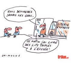 Premières dames de France - Dessin du jour - Urtikan.net