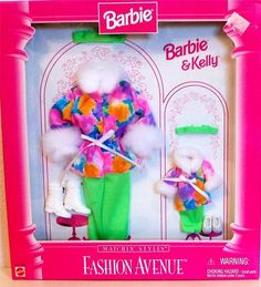 Barbie Boutique Fashion Avenue Outfit Barbie Kelly Barbie Accessorie | eBay