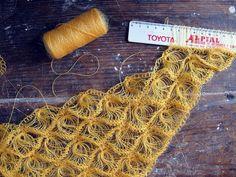 #crochet  ***hairpin lace crochet***