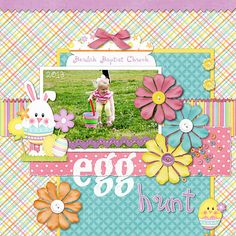 Egg Hunt - Scrapbook.com