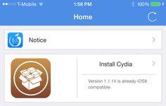 Pangu ya permite instalar Cydia en iOS 8 - http://www.actualidadiphone.com/2014/10/30/pangu-ya-permite-instalar-cydia-en-ios-8/