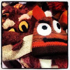 Gifts for Kids : Kiddie monster/animal beanies at Melissa Guerra :  Pearl Brewery : San Antonio, Texas