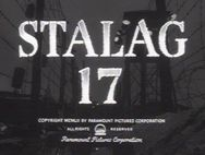 """Stalag 17 ~ The TCM page for """"Stalag 17."""""""