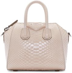 Givenchy - Pink Python Mini Antigona Bag