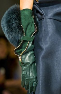 Gorgeous gloves. I wish! Gianfranco Ferre, Fall/Winter 2012/13.