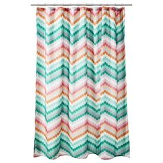 Room Essentials® Chevron Shower Curtain - Pink