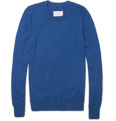 Maison Martin MargielaKnitted Cotton Sweater|MR PORTER