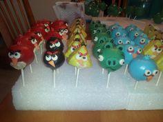 Angry Bird Cakepops