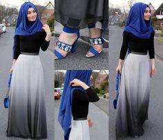 Skirt / Rock / Etek - @hazanahstore  Bag / Tasche / Canta - Grand Bazaar  Hijab / Kopftuch / Basörtü - www.misselegance.de (Hijab 249)