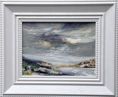 'Summertime'This is ... White Box Frame, Oil On Canvas, Canvas Size, Irish Art, Connemara, Seascape Paintings, Selling Art, Paintings For Sale, Painting Frames