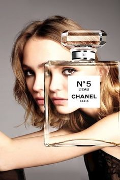 Lily-Rose Depp para Chanel