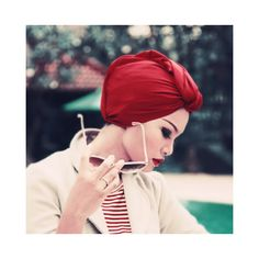 Glamour of the Turban Wrap....I can't decide whether I love or hate this new trend...