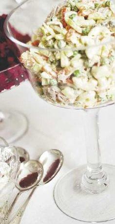 Italiansalaatti Potato Salad, Salads, Koti, Yummy Food, Snacks, Ethnic Recipes, Foodies, Drinks, Drinking