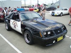 Fox Body Ford Mustang Police Car. I had an 83 GT. It was a shockingly durable car. And fun. Not as fast as you would hope, but lots of fun.