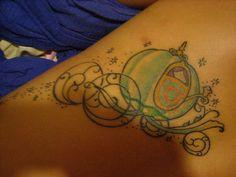Cinderella tattoo.