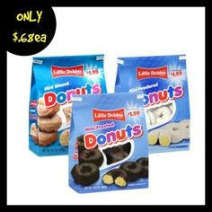 Coupon: $.75/1 Little Debbie Donuts + Target Deal mamabeesfreebies.com