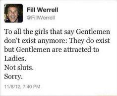 Gentleman exist