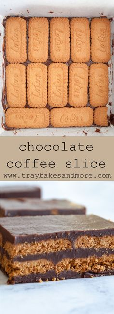 Chocolate Coffee Slice - traybakes & more