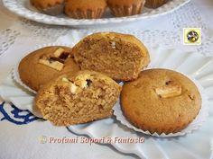 Muffin con Bimby al cioccolato bianco e caffe' Blog Profumi Sapori & Fantasia