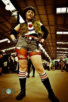 Tank Girl cosplayer at Melbourne Supanova 2012. Day 1