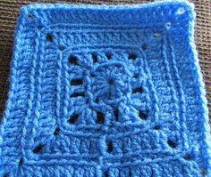 Ravelry: BLO: free 6 inch square pattern by Anastacia Zittel