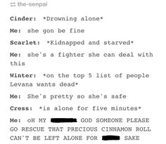 The Lunar Chronicles Cress funny Ya Books, Good Books, Teen Books, This Is A Book, Love Book, Book Memes, Book Quotes, The Lunar Chronicles, Marissa Meyer Books