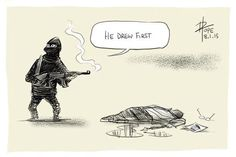Cartoonists around the world have reacted to a terror attack in Paris killing 12 people, including a police officer, at the controversial satire newspaper Charlie Hebdo. The New Yorker, Caricatures, Anne Sinclair, Twin Towers, Georges Wolinski, Religion, Paris Attack, Charlie Hebdo, Charlie Chaplin