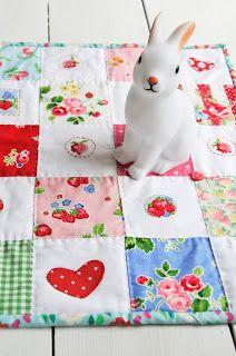 Helen Philipps: Strawberry Stitching