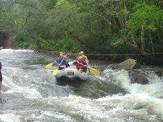 Descendo o rio Paranhana