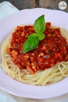 Roślinna : Wegański sos a'la bolognese