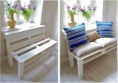 12 nápadov ako využiť drevené palety ~ Homemade by Majka