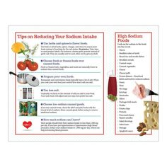 "8 ½"" x 11"", 50 sheets, 2-sided Discover ways to reduce sodium intake without sacrificing flavor with the Shake the Salt Habit Handouts. This easy to read handout includes information about where sodium comes from, common high sodium foods, how to decipher sodium labeling terms on food packaging, and tips to reduce your salt intake.The simple design of the handout features easy to read type that makes it perfect for older adults and low-literacy populations. High Sodium Foods, Sodium Intake, Nutrition Education, Food Packaging, Simple Designs, Shake, Literacy, Type, Eat"