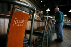 Founders Brewing Company- Ranked as second-best brewery in the world- Located in Grand Rapids, MI