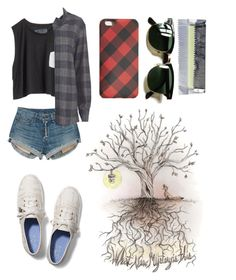 """""""Discover"""" by jazzylea9 ❤ liked on Polyvore featuring rag & bone, Blondes Make Better T-Shirts, Keds, IRO, J.Crew and Ray-Ban"""