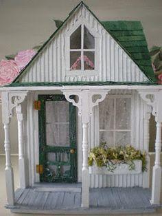 Shabby Chic! Shabby Streamside Studio Dollhouse
