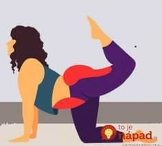 Telo, ktoré máte v 40-tke je telo, ktoré je veľmi odlišné od toho v čerstvej dvadsiatke. Netrápte sa extremne namáhavými cvikmi, ktoré aj tak neprinesú efekt a namiesto toho zvoľte pevné zdravie a pevnú figúru aj v zrelom veku Health Diet, Health Fitness, Tabata, Natural Medicine, Excercise, Yoga Poses, Pilates, Weight Loss, How To Plan