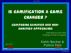 Is gamification a game changer