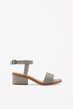 These sandals are made from soft suede with a braided strap detail. Secured with an adjustable buckle fastening, they have a padded leather insole and suede-covered block heel. Suede Sandals, Soft Suede, Shoe Collection, Who What Wear, Fashion Outfits, Fashion Trends, Block Heels, Me Too Shoes, That Look