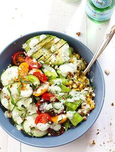 8 Satisfying Grain-Bowl Meals Under 400 Calories 8 Satisfying G… - Healthy Food Recipes Meals Under 400 Calories, 400 Calorie Meals, 300 Calories, Healthy Salads, Healthy Eating, Healthy Recipes, Healthy Food, Clean Recipes, Sin Gluten
