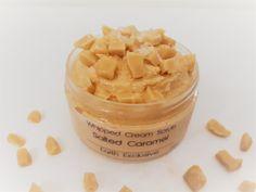 Body Scrub Recipe, Diy Body Scrub, Diy Scrub, Foaming Soap, Caramel Fudge, Whipped Soap, Organic Skin Care, Peanut Butter, Homemade