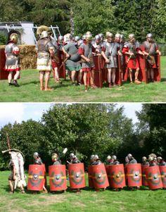 Römische Legion - Bilder von Formationen