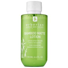 Shop Erborian's Bamboo Matte Lotion at Sephora. This bamboo-enriched lotion effortlessly mattifies skin and minimizes the appearance of pores.