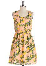 Lemony Thicket Dress | Mod Retro Vintage Dresses | ModCloth.com