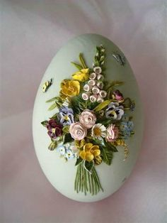 These Easter eggs look like china. Beautiful works of art-all done on an egg! Easter Egg Crafts, Easter Eggs, Art D'oeuf, Clay Crafts, Diy And Crafts, Types Of Eggs, Egg Shell Art, Egg Designs, Egg Art