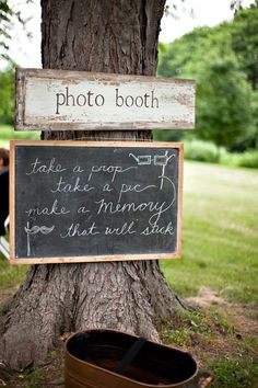 Outdoor wedding Photobooth Ideas #vintage #neverforgetphoto or even for like a birthday party or just a party in general