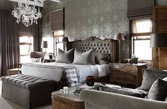 The Private House Co, Fourways, JHB - Sourcing furnishings inspired by the subtleties of nature and natural light. Dream Bedroom, Home Bedroom, Bedroom Ideas, South African Homes, Beautiful Bedrooms, Master Suite, New Homes, Relax, Interior Design