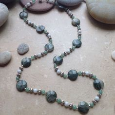 Moss Agate Necklace