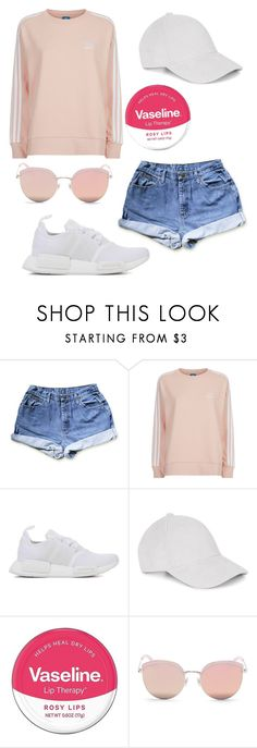 """""""Kyla Silverwood"""" by abbs-gaille on Polyvore featuring adidas Originals, Le Amonie, Vaseline and Stephane + Christian"""