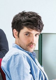 "Stunningly handsome! Colin Morgan in ""Gloria"", June 2017."